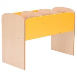 Biblioteca verticala - Premium – galben