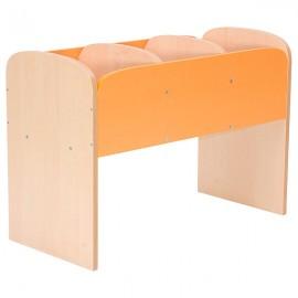 Biblioteca verticala - Premium – portocaliu