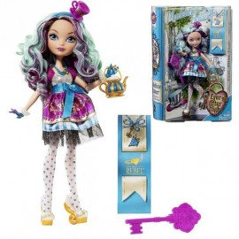 Papusa Ever After High - Madeline Hatter Cu Accesorii imagine