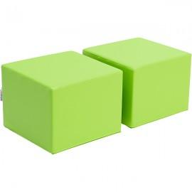 Scaune pentru bilblioeca Premium – verde