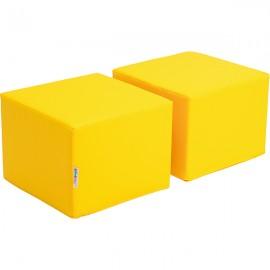 Scaune pentru bilblioeca Premium – galben