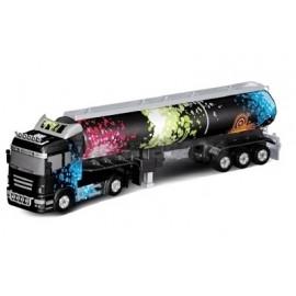 Camion cu semiremorca 0202C cu Telecomanda Scara 1:32