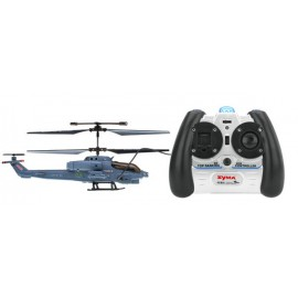 Elicopter US Marine Corps Apache cu Gyro 3 canale de interior Syma S108G