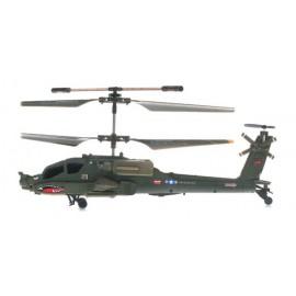 Elicopter cu telecomanda S109G US Army Apache cu Gyro 3 canale de interior