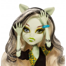 Papusa Frankie Stein Hybrid - Monster High Freaky Fusion