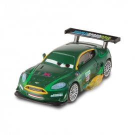 Nigel Gearsley cu flacari - Disney Cars 2