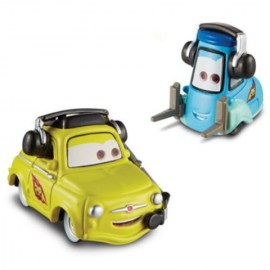 Luigi Si Guido Cu Casti - Disney Cars