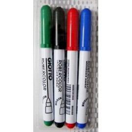 Set 4 markere pentru tabla - Robercolor