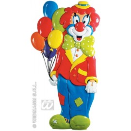 Decor clown 3d