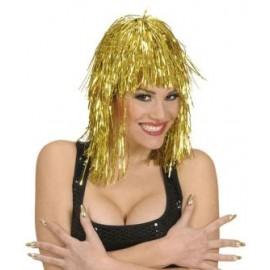 Peruca disco aur