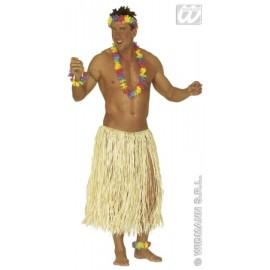Fusta hula crem