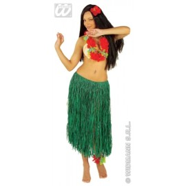 Fusta hula verde