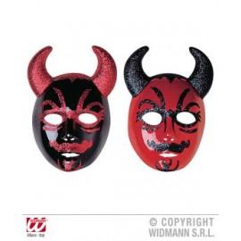 Masca glitter diavol