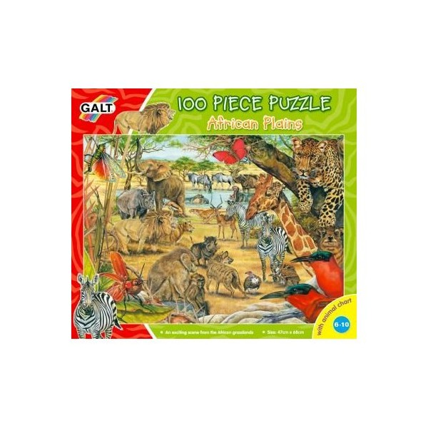 Puzzle - Campiile Africane / African Plains