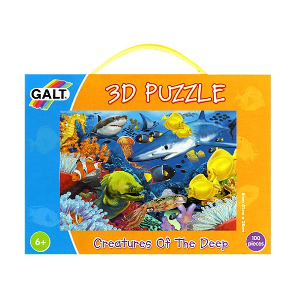 Creaturi Marine - 3D Puzzle / Creatures of the Deep