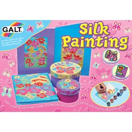 Galt - Set de pictat pe matase / Silk painting