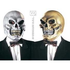 Masca schelet aur/argintiu