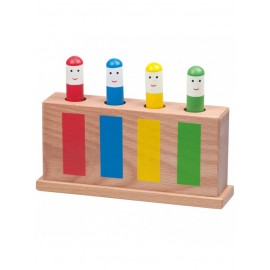 Jucarie surpriza din lemn / Pop-Up Toy