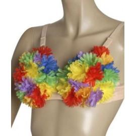 Sutien flori multicolore
