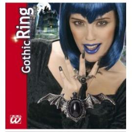 Inel gotic liliac