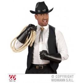 Manusi negre cowboy