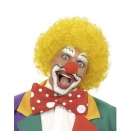 Peruca Clown Galbena