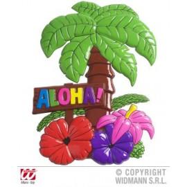 Decor aloha palmier