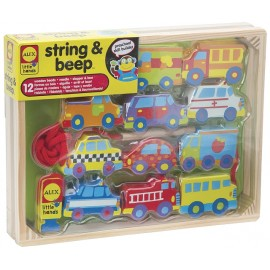 Alex Toys - Automobile insirate pe sfoara / String & Beep