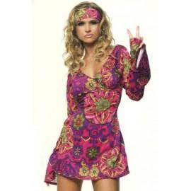 Costum hippie - marimea 158 cm