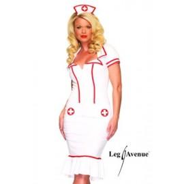 Costum asistenta - marimea 140 cm