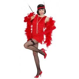 Costum deluxe flapper rosu