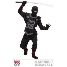 Costum ninja - marimea 128 cm