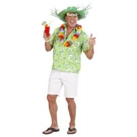 Bluza hawaii verde