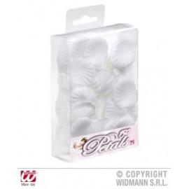 Petale trandafir albe