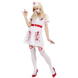 Costum zombie asistenta