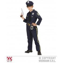 Costum politist - marimea 128 cm