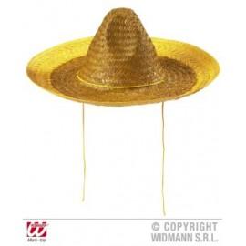 Palarie sombrero galbena