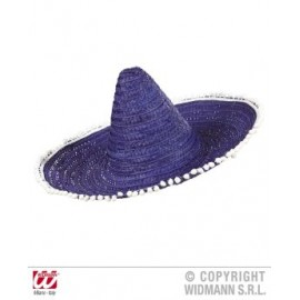 Palarie sombrero albastra