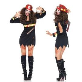 Costum zombie pompier