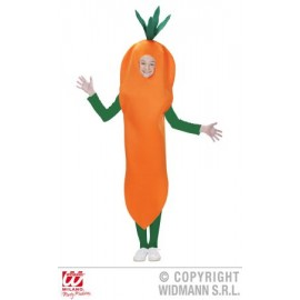 Costum morcov - marimea 140 cm
