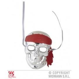 Masca pirat argintie