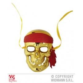 Masca pirat aurie