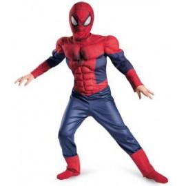 Costum spiderman - marimea 140 cm