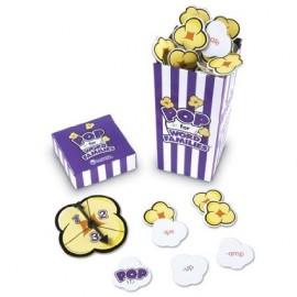 Popcorn cu litere-familia de cuvinte