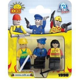 Set 3 Figurine - 1990