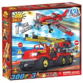 Masina si avion de salvare in caz de incendiu - 1440