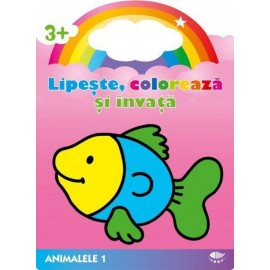 Peste. Animalele 1, Lipeste. coloreaza si invata