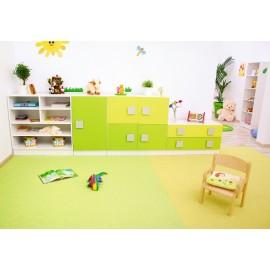 Set mobilier gradinita 3 - Colores