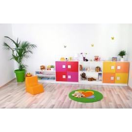 Set mobilier gradinita 6 - Colores