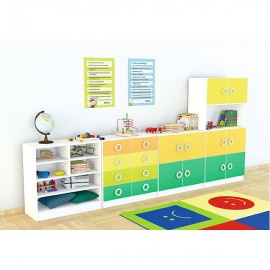 Set mobilier gradinita 14 - Colores